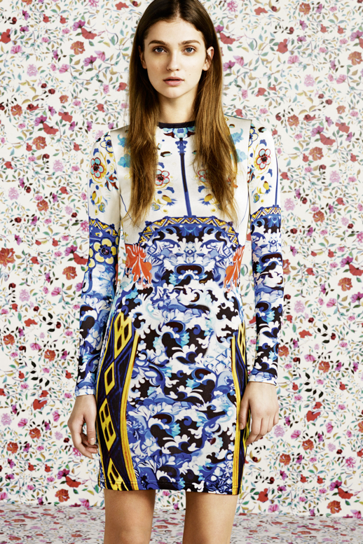 MARY KATRANTZOU FOR TOPSHOP MARY K PRINT DRESSES PANTS FLORALS BOWL SKINNY MIXED PRINTS 3