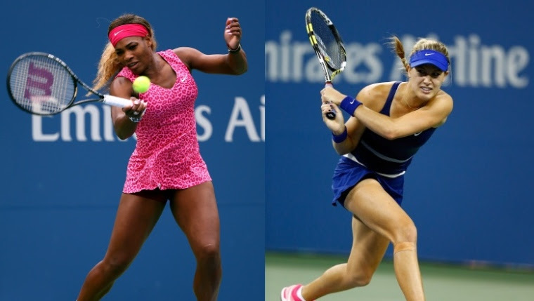 Serena Williams et Eugenie Bouchard