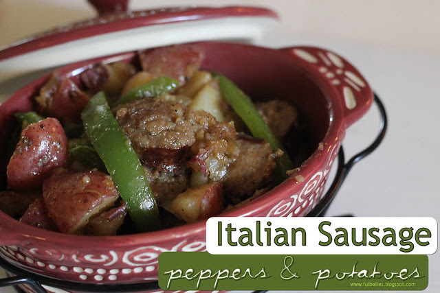 Italian Sausage, Peppers and Potatoes