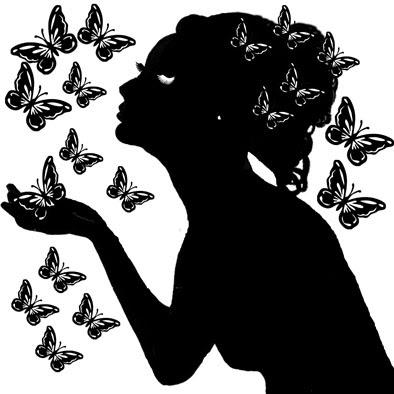 Butterfly lady 8x8