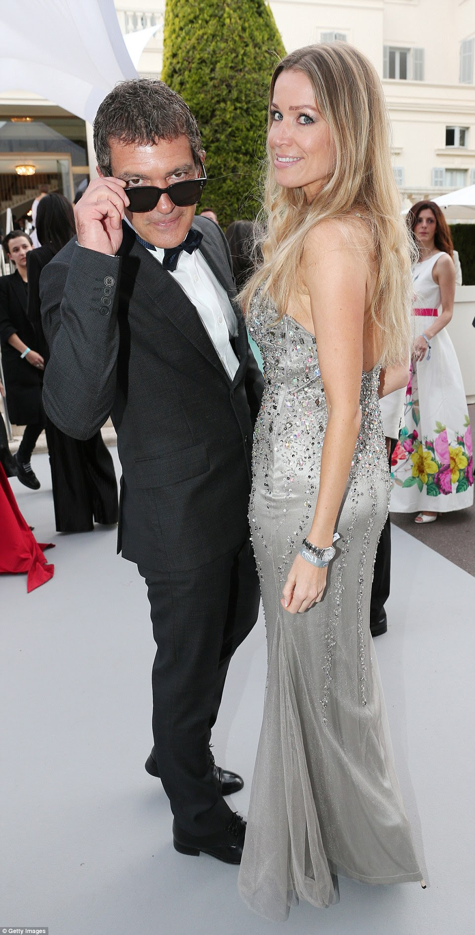 The Spanish star has been dating his Dutch-German girlfriend Nicole Kimpel, an investment adviser, since meeting her in Cannes in 2014