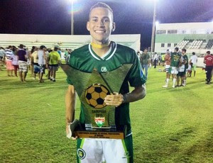 Pablo - volante do Globo FC / ex-Assu (Foto: Reprodução/Instagram)