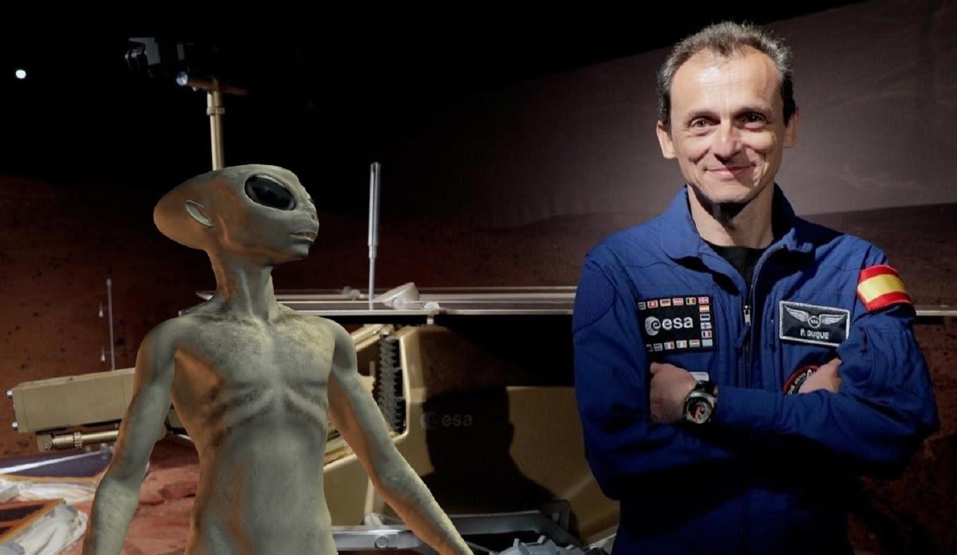 Astronauta espanhol diz que logo encontraremos alienígenas