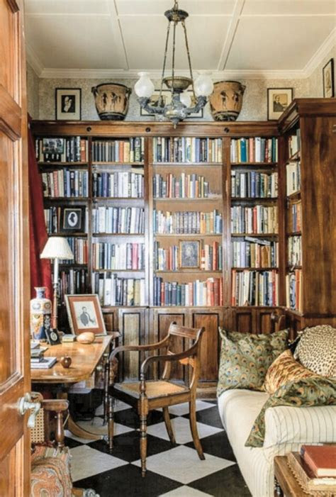 home libraries ideas  pinterest library