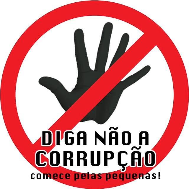 Resultado de imagem para corrupção não