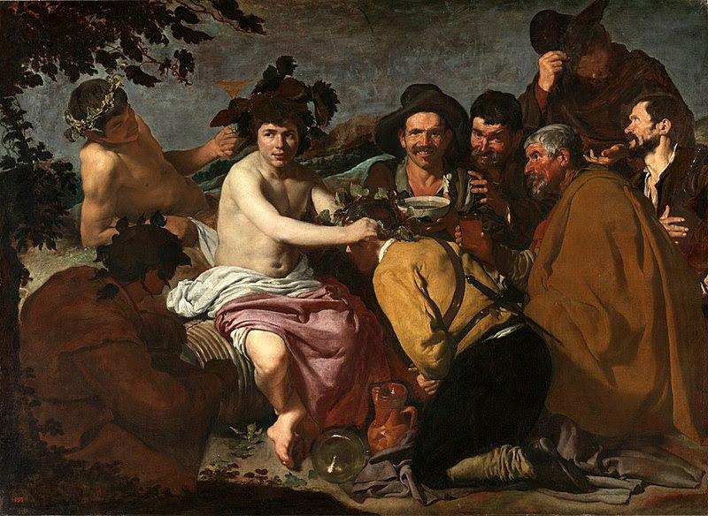 Arquivo:. Velázquez - El Triunfo de Baco o Los Borrachos (Museo del Prado, 1628-1629) jpg