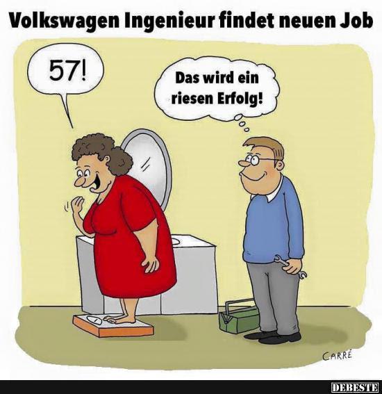 Volkswagen Ingenieur Findet Neuen Job Lustige Bilder Sprüche