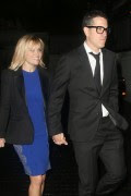 Reese Witherspoon and Jim Toth seen leaving Chateau Marmont in Los Angeles. Los Angeles, California - February 28, 2014 x31 HQ's