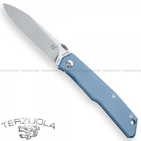 Fox Terzuola Knife Titanium Frame Lock FX-525TIBL