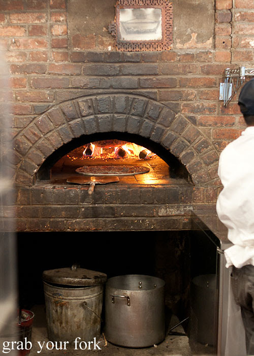 woodfired oven at best pizza brooklyn new york pizza ny usa