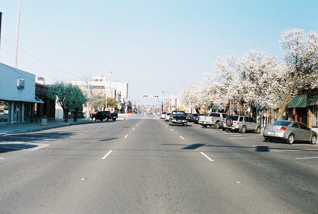 Norman Ok Main Street In Early Spring