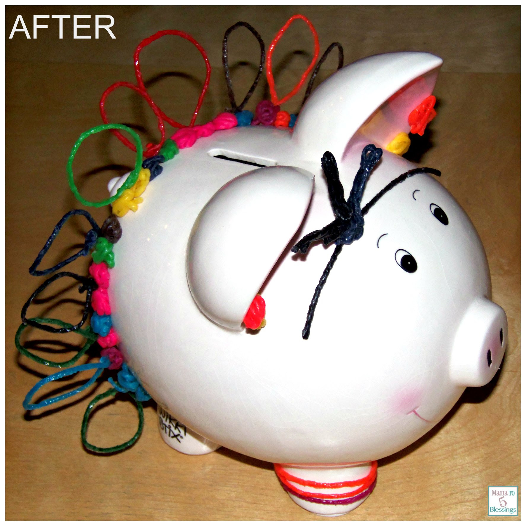 Kids Can Save Money In Their Wikki Stix Piggy Banks