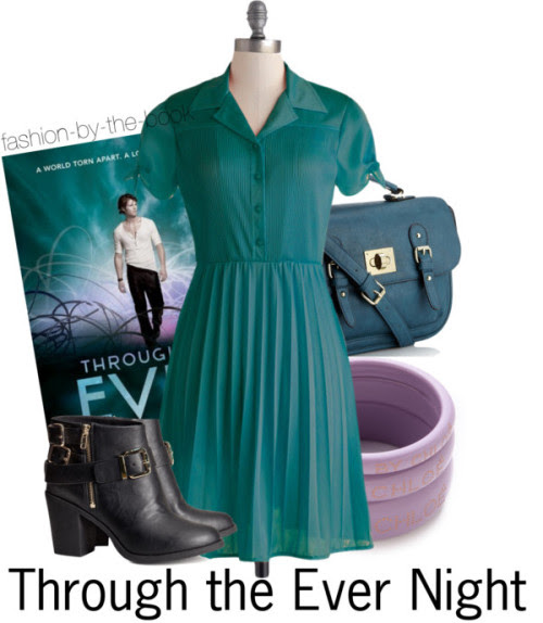 """fashion-by-the-book:  Through the Ever Night by Veronica Rossi Find it here """"Love was like the waves in the sea, gentle and good sometimes, rough and terrible at others, but that it was endless and stronger than the sky and earth and everything in between.""""   adorbs. flove."""