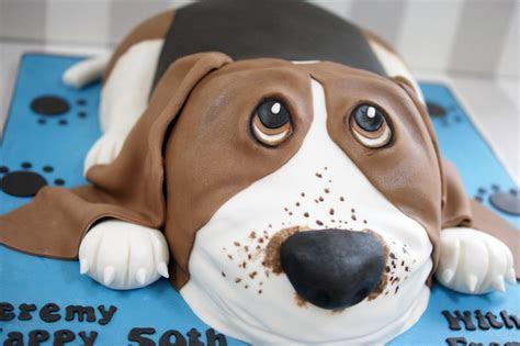 Basset Hound Birthday Cake   Bakealous