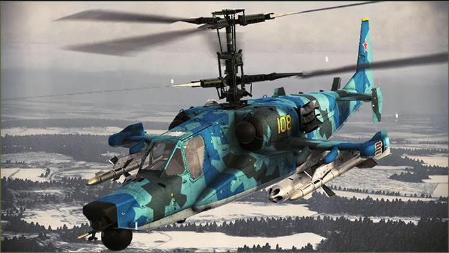 Kamov Ka-50 & -52 - Hokum / Werewolf / Alligator