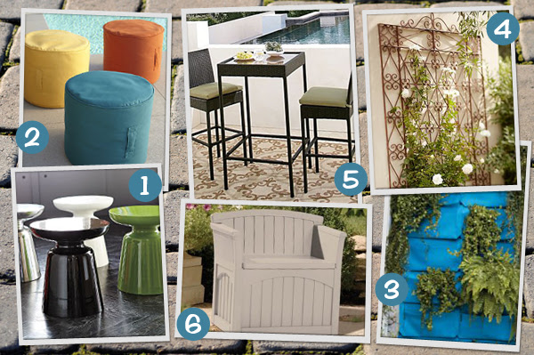 Backyard decor for small spaces