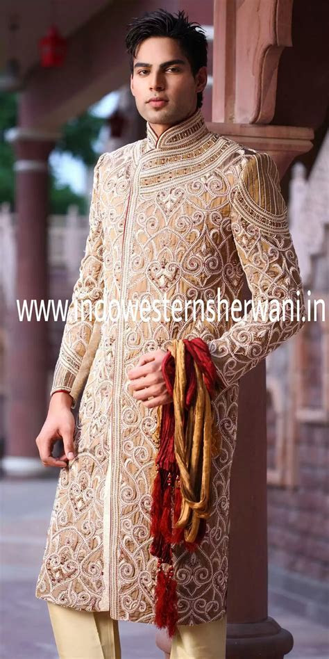 Groom Wedding Sherwani « Classic Groom Sherwani   Sherwani