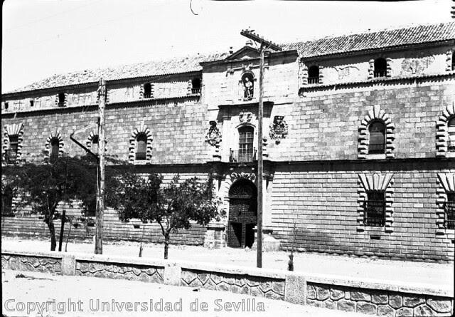 Hospital Tavera el 24-8-1935. Foto Antonio Sancho. Fototeca de la Universidad de Sevilla