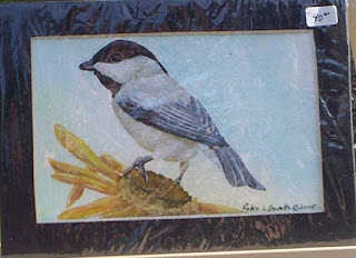 chickadee painting