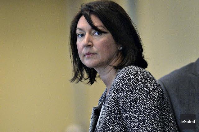 L'ancienne vice-première-ministre et ex-animatrice au FM93, Nathalie Normandeau... (Photothèque Le Soleil, Patrice Laroche)