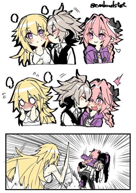 jeanne jealous fatestaynight fate anime