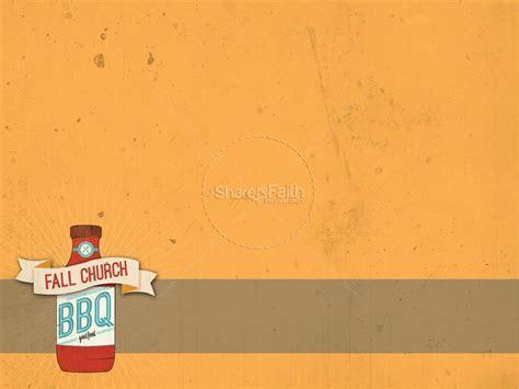 Fall Chuch BBQ PowerPoint   Fall Thanksgiving PowerPoints