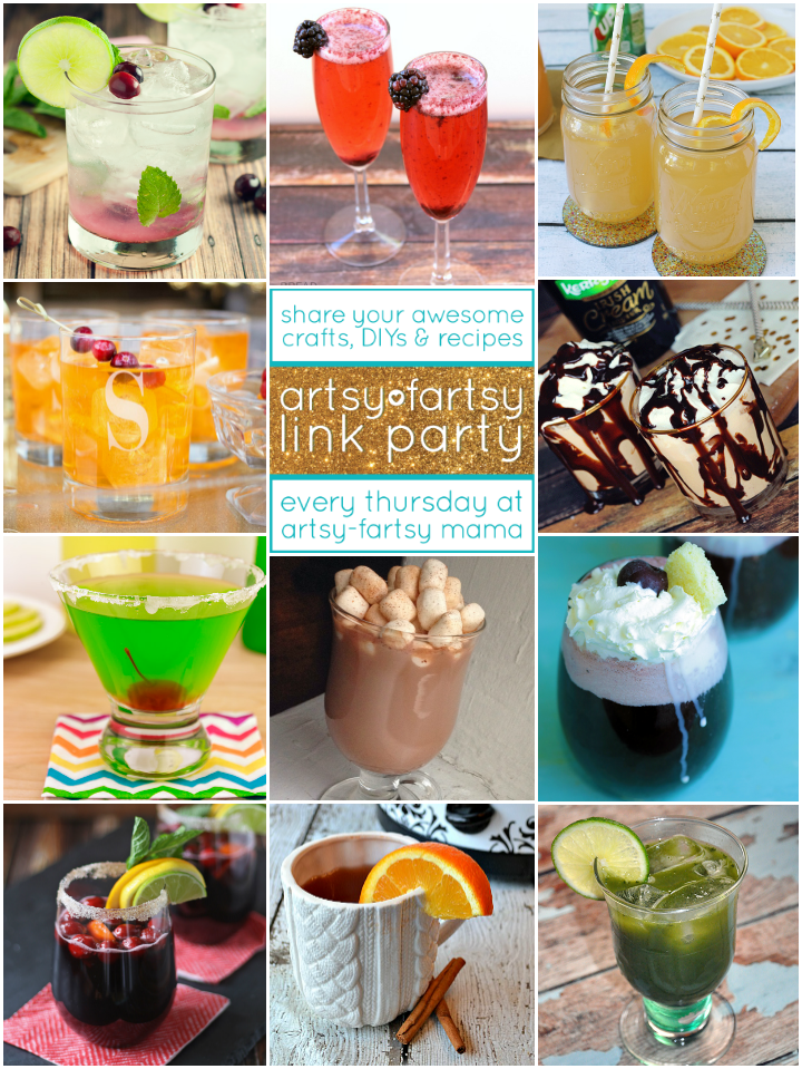 11 Drink Recipes at artsyfartsymama.com