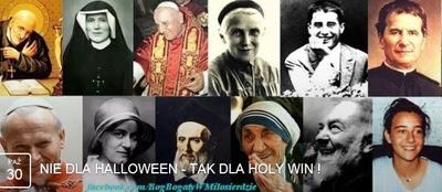NIE dla halloween - TAK dla HOLY WIN!