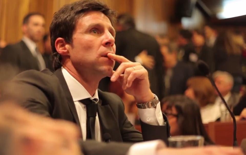 El fiscal Facundo Trotta, en un momento del juicio. / DocumentalLa Sentencia, crónica de un día de justicia.