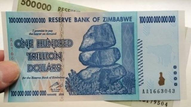 Zimbabwe: Benk Kuu ya nchi hiyo yashindwa kutoa fedha mpya