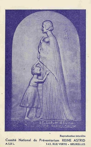 Denkmal für Königin Astrid von Belgien