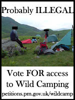 Wildcamping ePetition