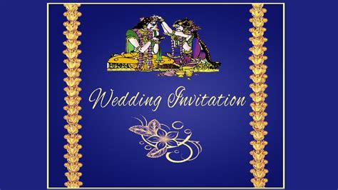 How to create a Wedding Invitation Card Front Page in