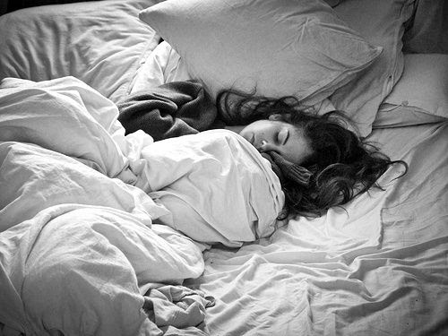sailboatsandwind:  coldwindandiron:  thehistoryofsilence:  Sleepy head  I wake up at 5 every morning. I'm sure I'd be up before you. Coffees...