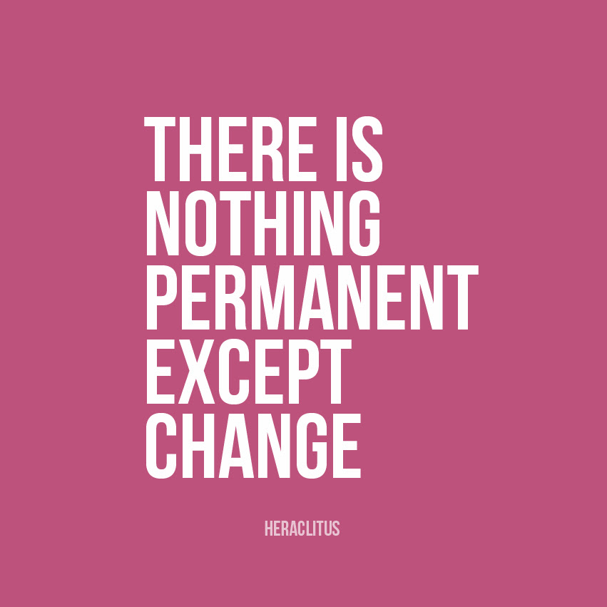 Quotes About Nothing Is Permanent 64 Quotes
