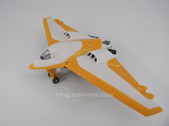 Transformers Sunspot Hunt for the Decepticons Scout - modo alterno