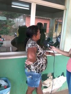 Dona Francisca também denunciou a uma equipe de reportagem da TV Nova Era em Colinas