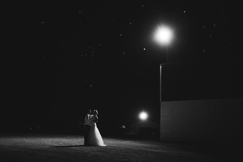Bride and Groom End of the night Portraits