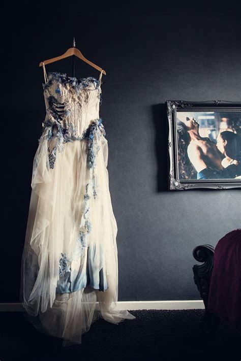 A Corpse Bride Wedding: Steph & Lee   I really like