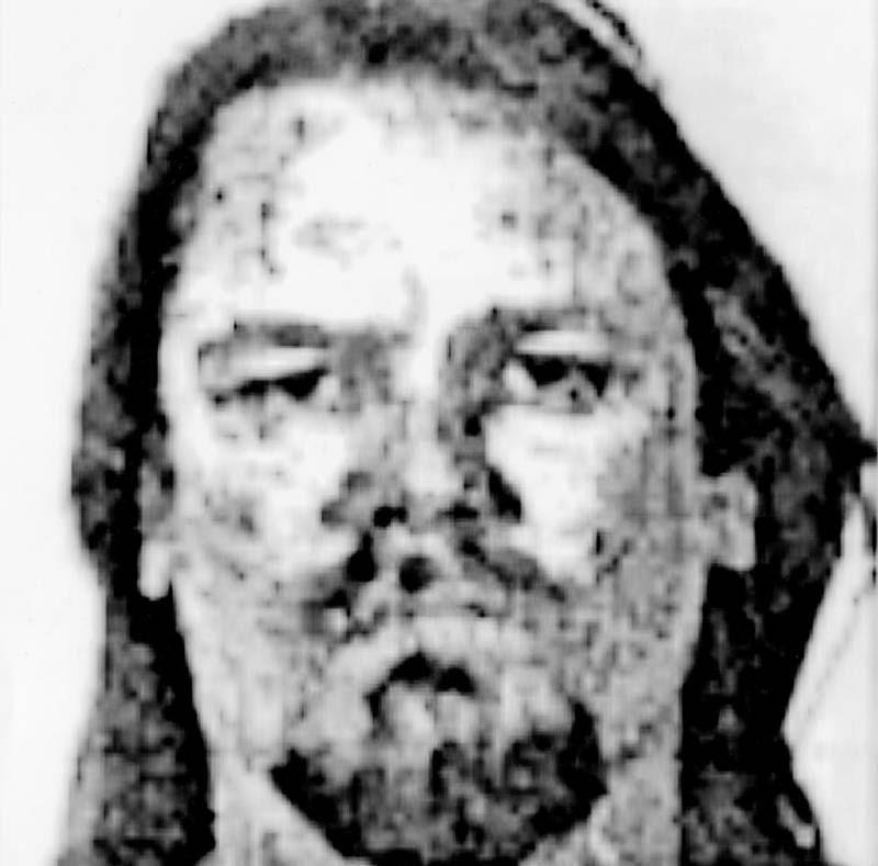 Jan Krogh Jensen på et kornet billede, der kom frem i medierne efter hans død. Polfoto
