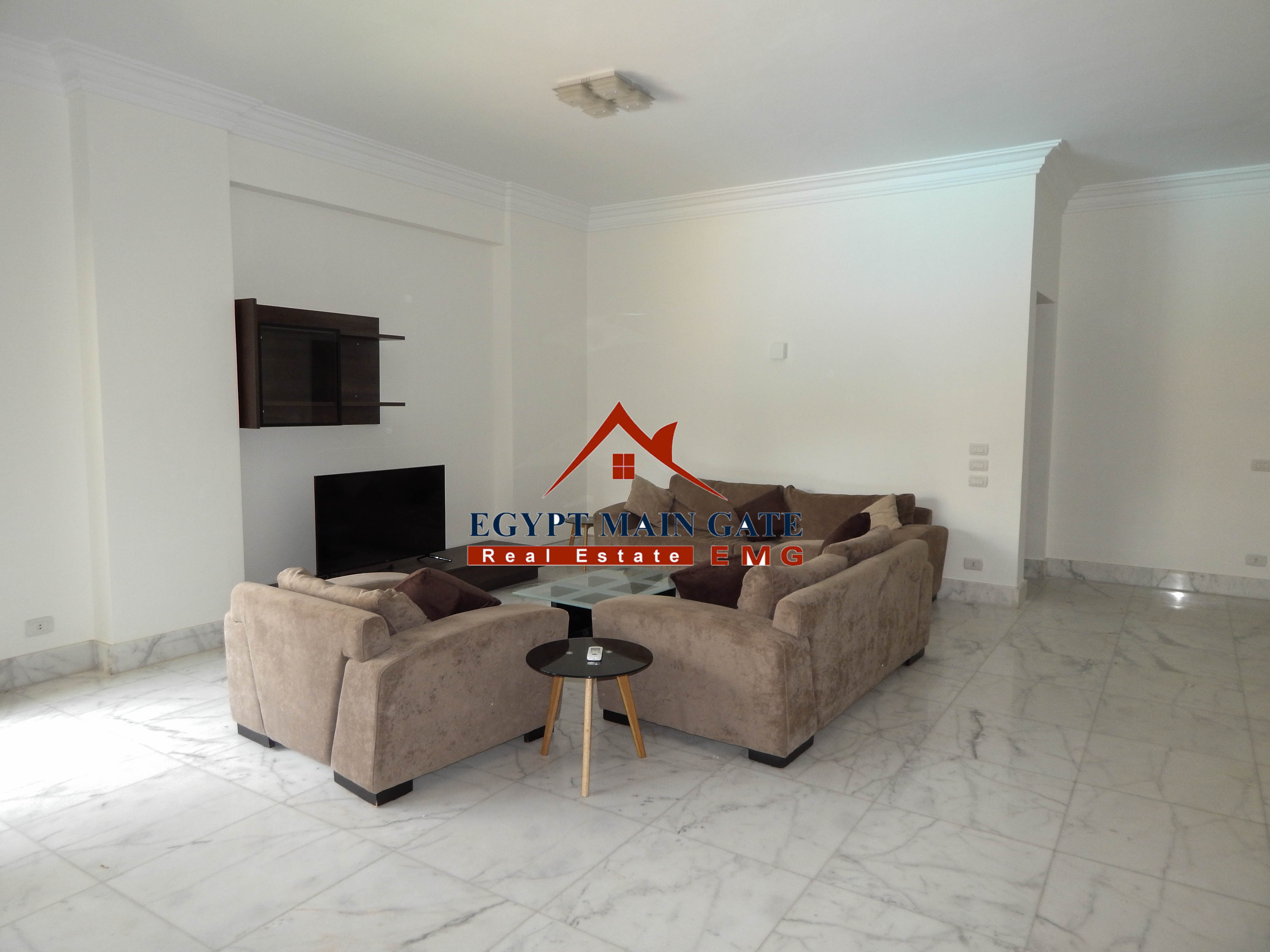 Egyptmaingate Modern Flat For Rent In Maadi Sarayat In A Compound