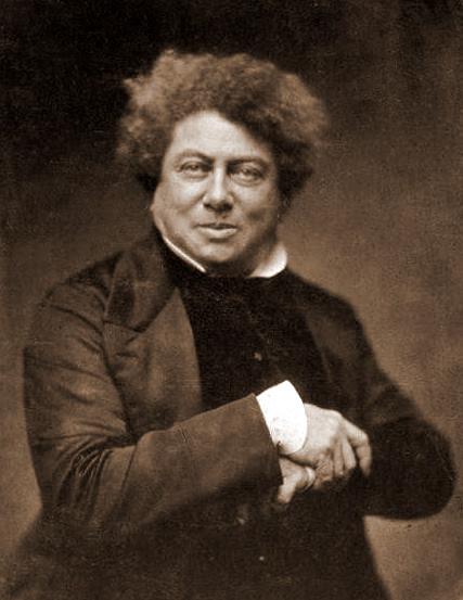 Alexandre Dumas Portraits de gens célèbres par Felix Nadar