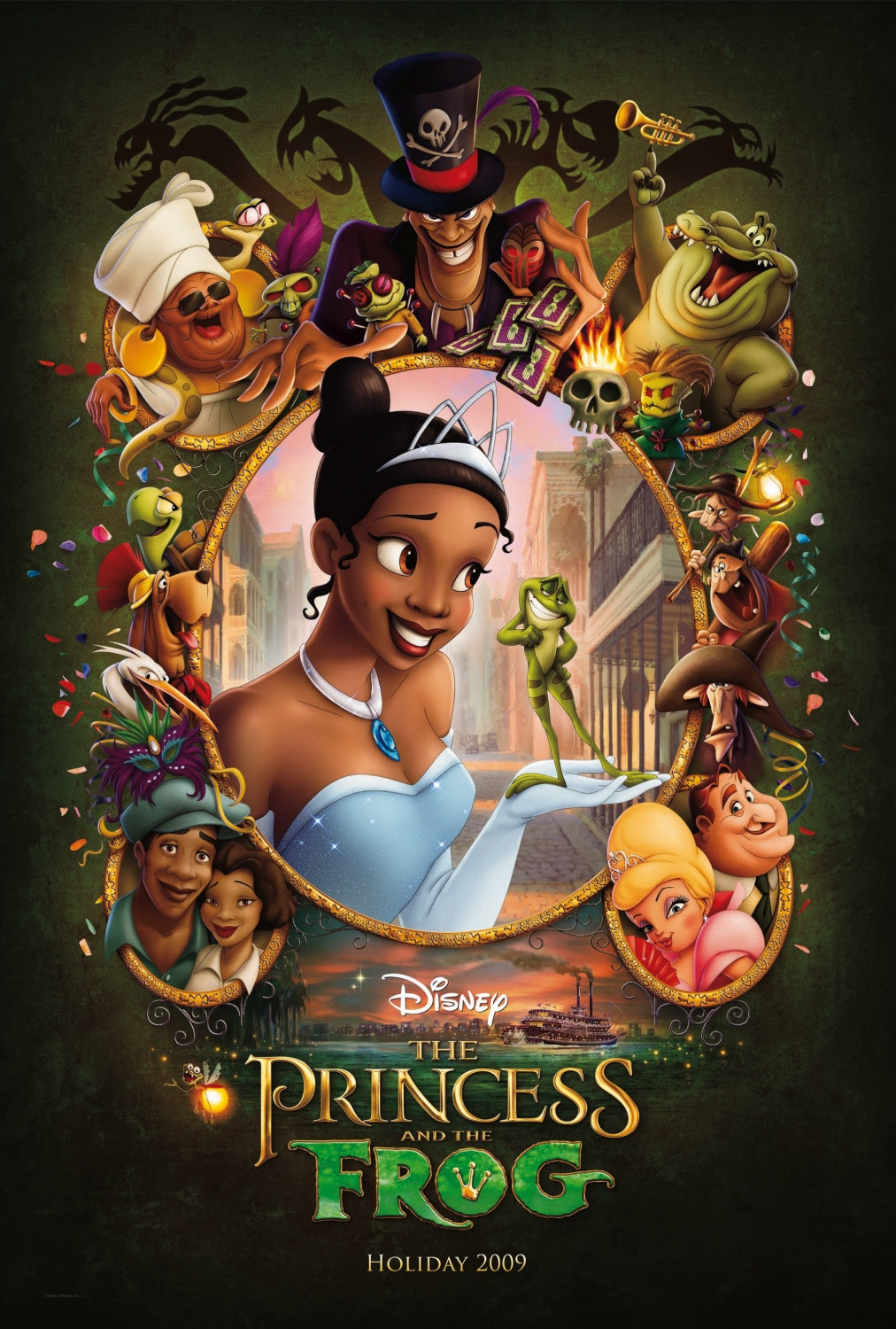 New PRINCESS AND THE FROG Movie Poster — GeekTyrant