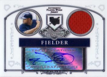 Prince Fielder Authentic Autograph Card
