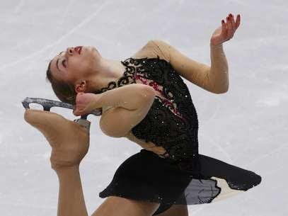 Patinadora Isadora Williams é esperança para 2018 Foto: Reuters