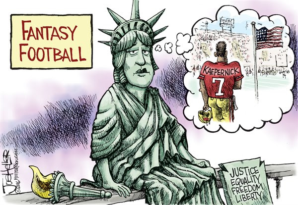 Image result for 49ers colin kaepernick cartoons