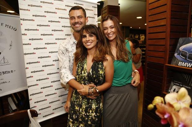 Carmo Dalla Vecchia, Maria Ribeiro e Mônica Martelli (Foto: Felipe Assumpção / Agnews)