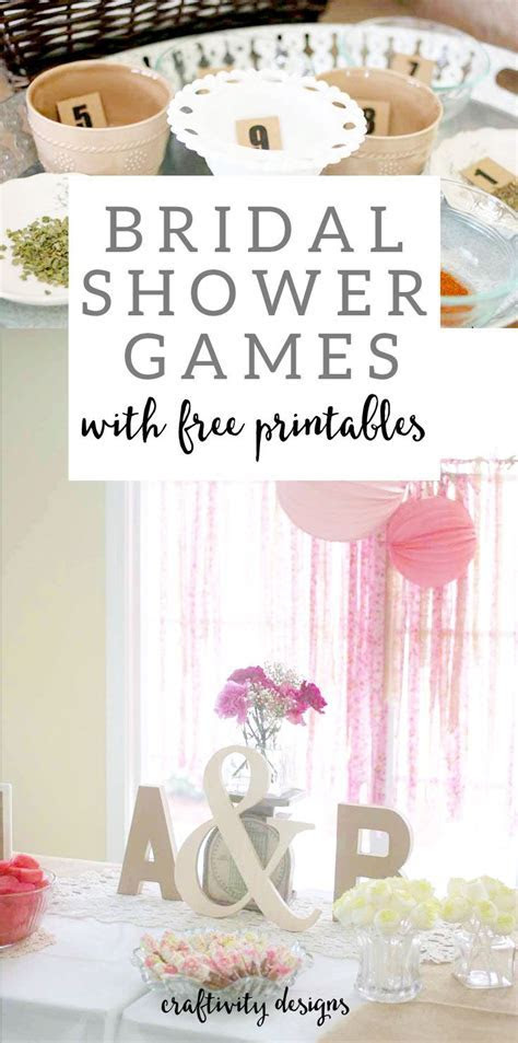 1000  ideas about Bridal Shower Games on Pinterest   Chic
