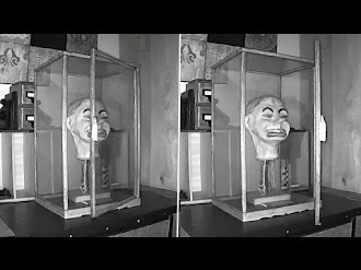 Muñeco ventrílocuo parpadea y mueve la boca solo