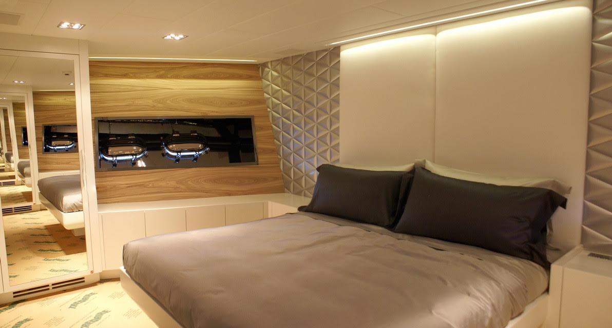 Luxury Yacht Charter MAO - VIP Cabin - Mangusta (